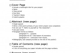 018 Middle School Science Fair Research Paper Template Project 61332 Frightening