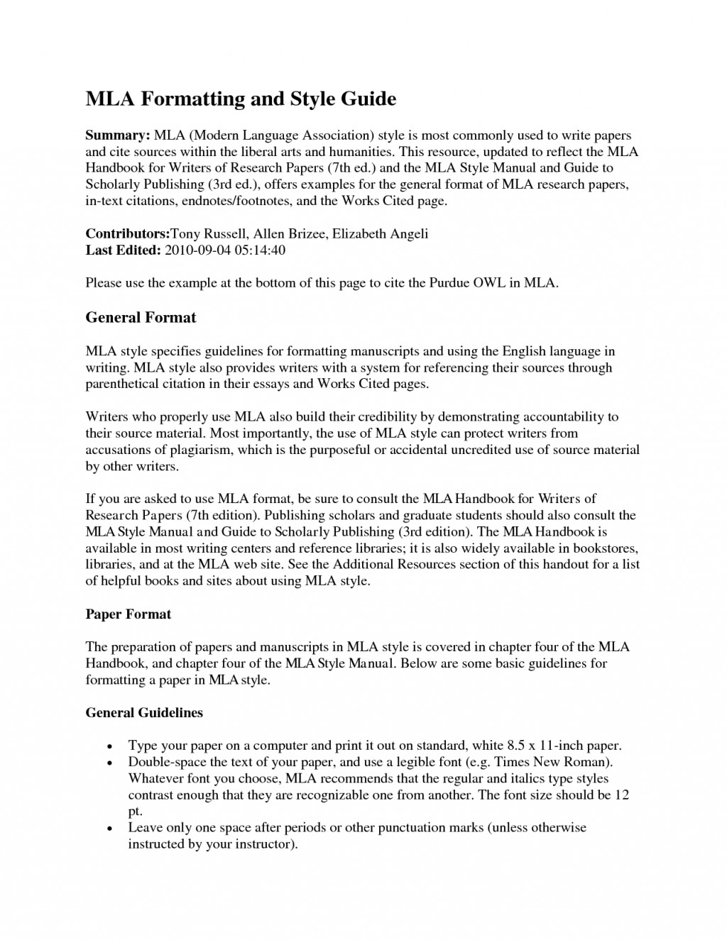 018 Mla Essay Headings Format Section Example Heading Proper For Title Italicized Underlined Paper Page In Multiple Authors Archaicawful Research Works Cited College Large