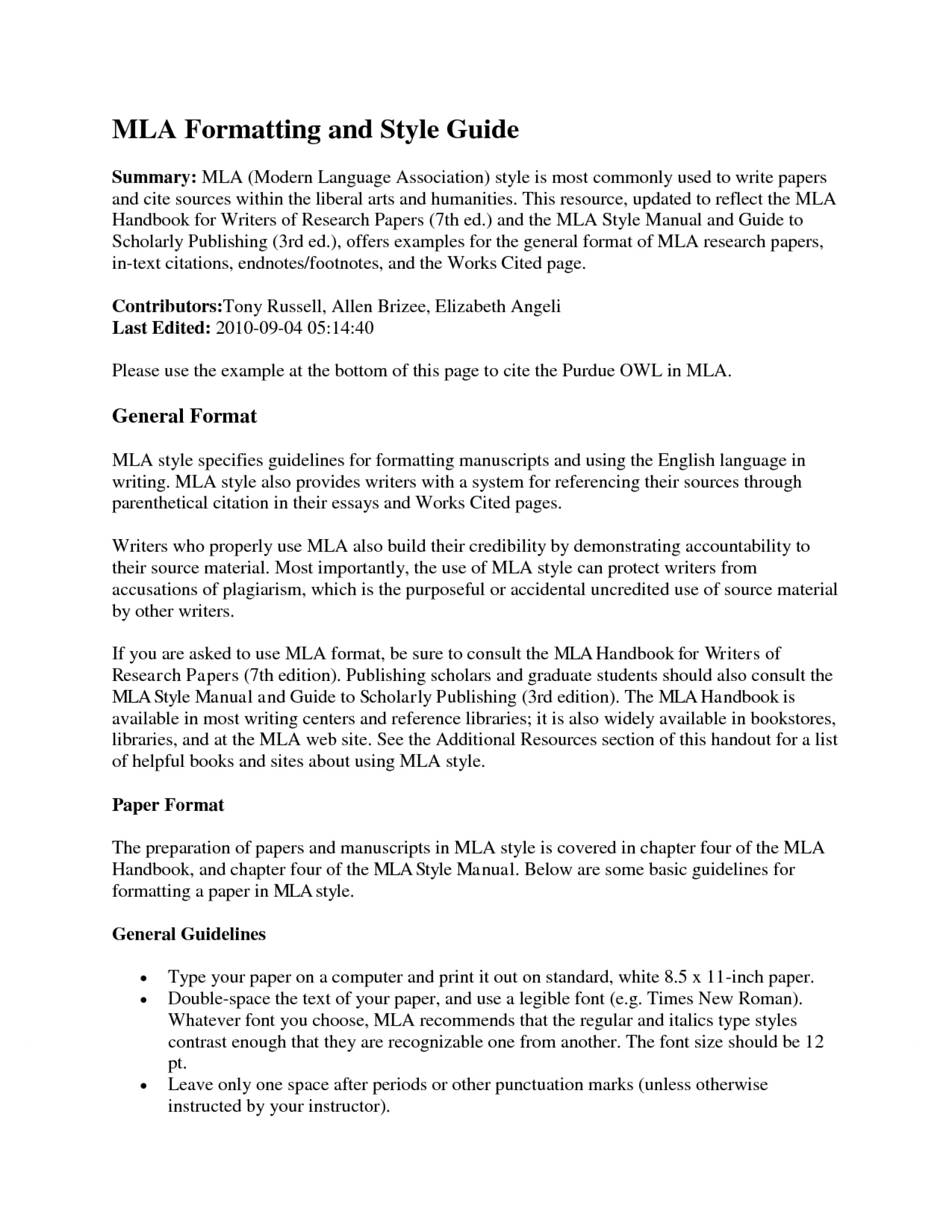 018 Mla Essay Headings Format Section Example Heading Proper For Title Italicized Underlined Paper Page In Multiple Authors Archaicawful Research Works Cited College 1920