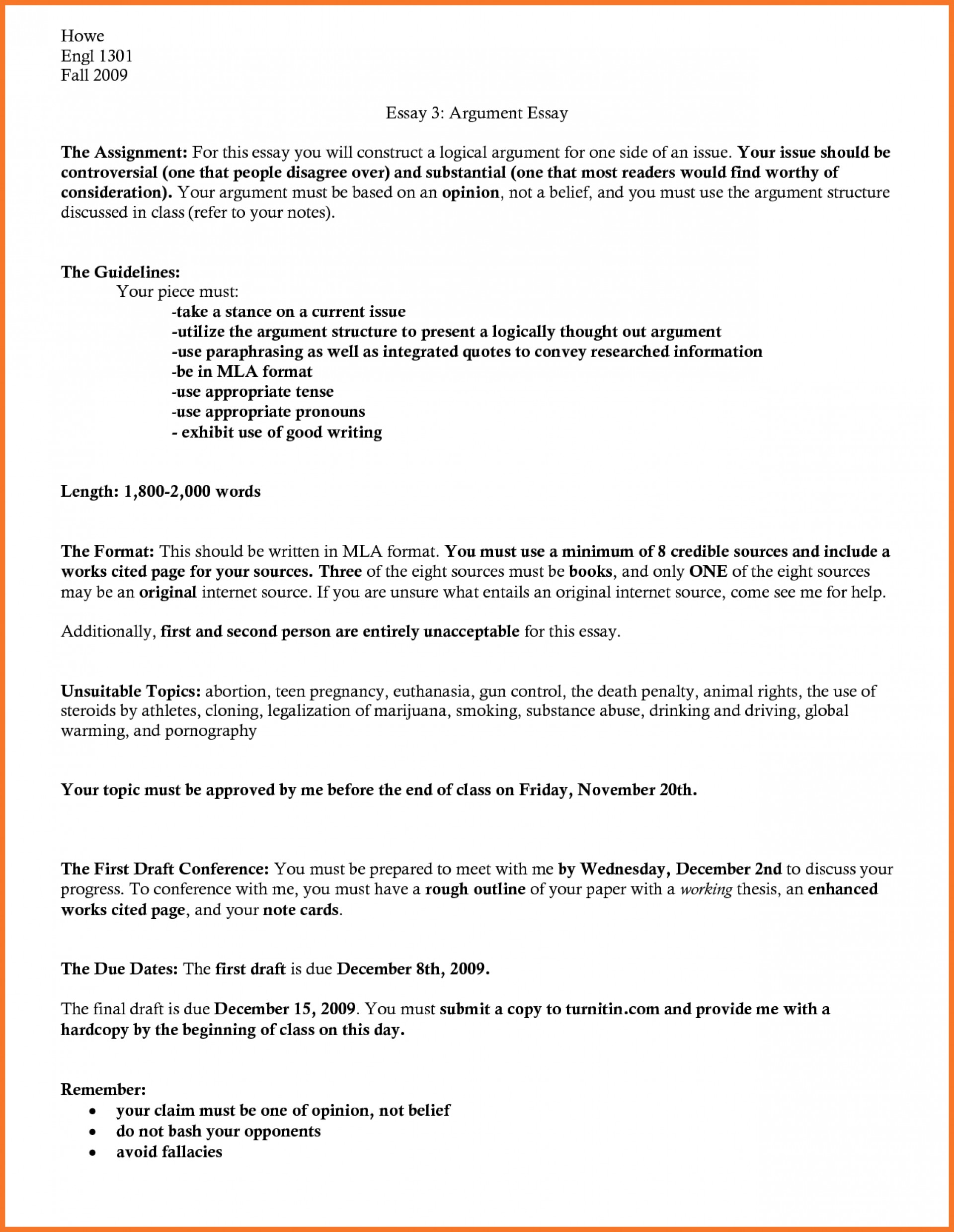 018 Mla Format Research Essay Outline Paper Ideas Of Awesome Template 1920