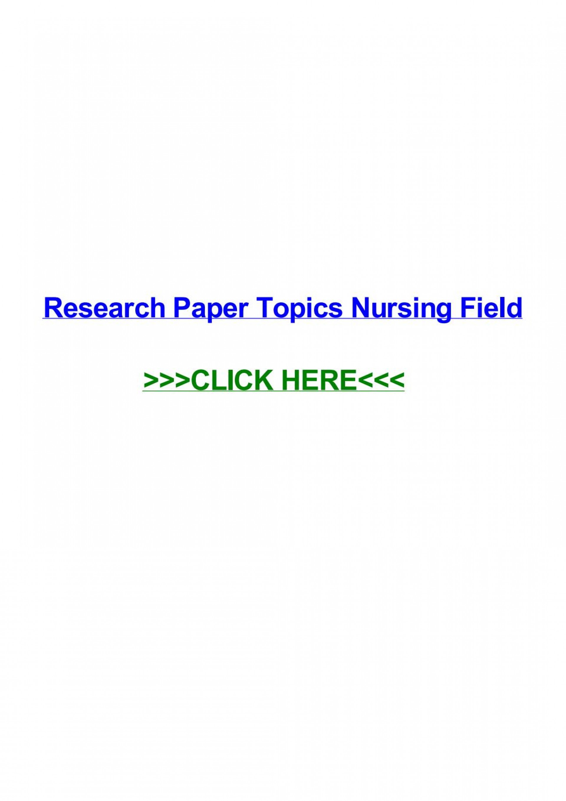 018 Page 1 Research Paper Topics Unforgettable Nursing Easy Neonatal Pediatric 1920