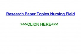 018 Page 1 Research Paper Topics Unforgettable Nursing Easy Neonatal Pediatric