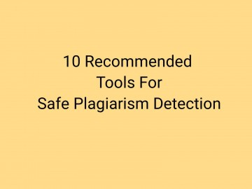 018 Plagiarism Detection Software Research Paper Best Amazing Writing 360