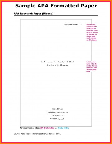 018 Research Paper Apa Format For Appendix Example Imposing Title Page References 360