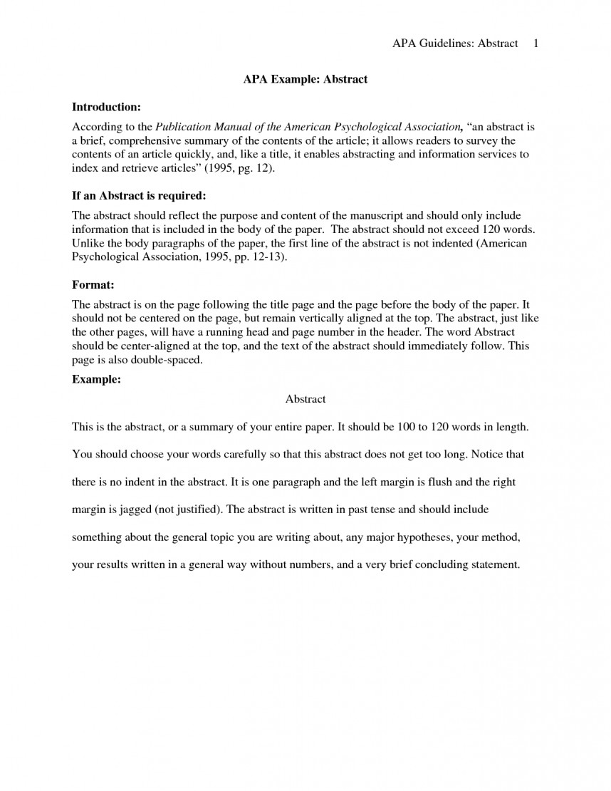 018 Research Paper Apa Introduction 130495 Frightening Example
