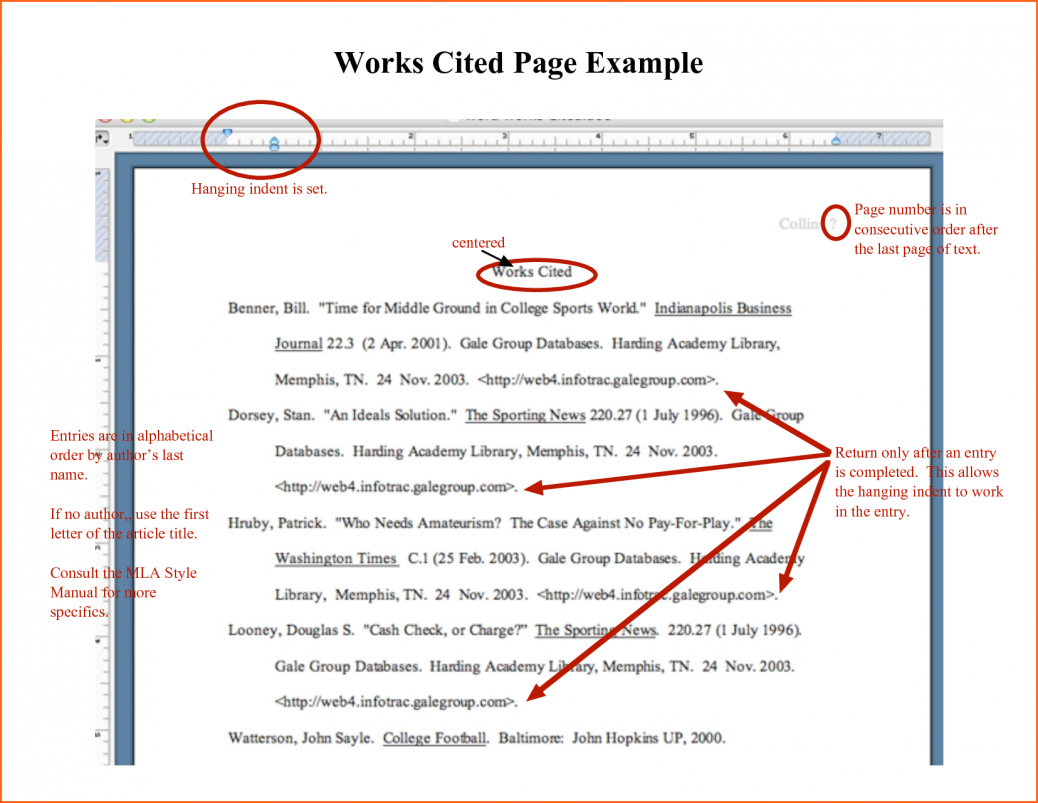 018 Research Paper Citing Mla Example Of Essay With Works Cited What Is Page Excelent Citation Help Impressive Cite A Style Citations For The Are Found Where Websites In Full