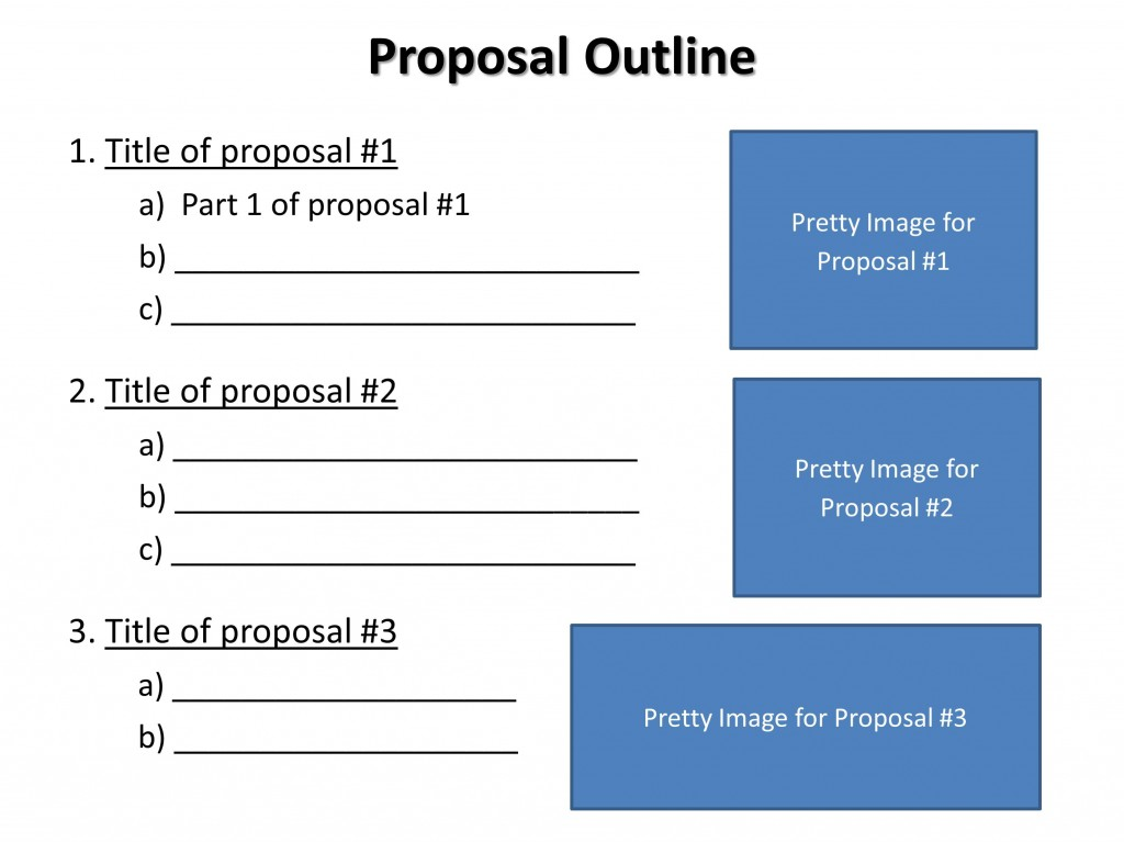 018 Research Paper Components Of Outline Proposal Imposing Main A Large
