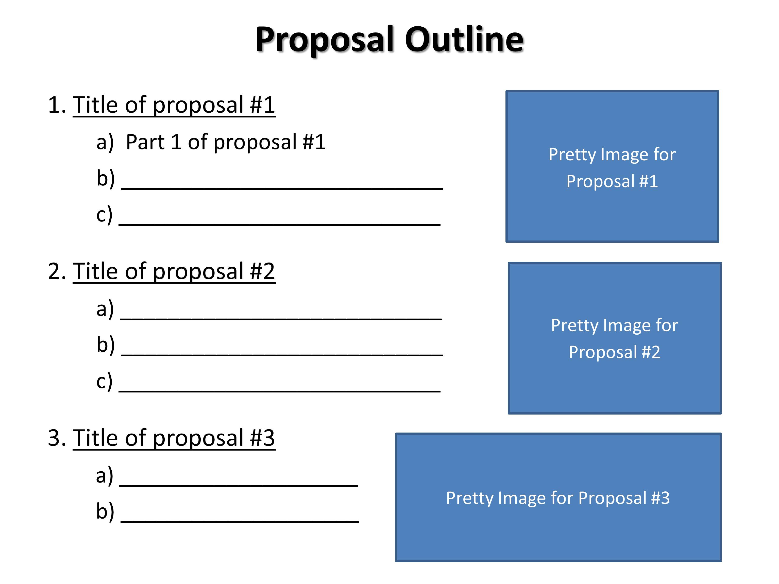 018 Research Paper Components Of Outline Proposal Imposing Main A Full