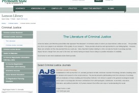 018 Research Paper Criminal Justice Methods Topics Cj Guide Journals Unbelievable Papers Question