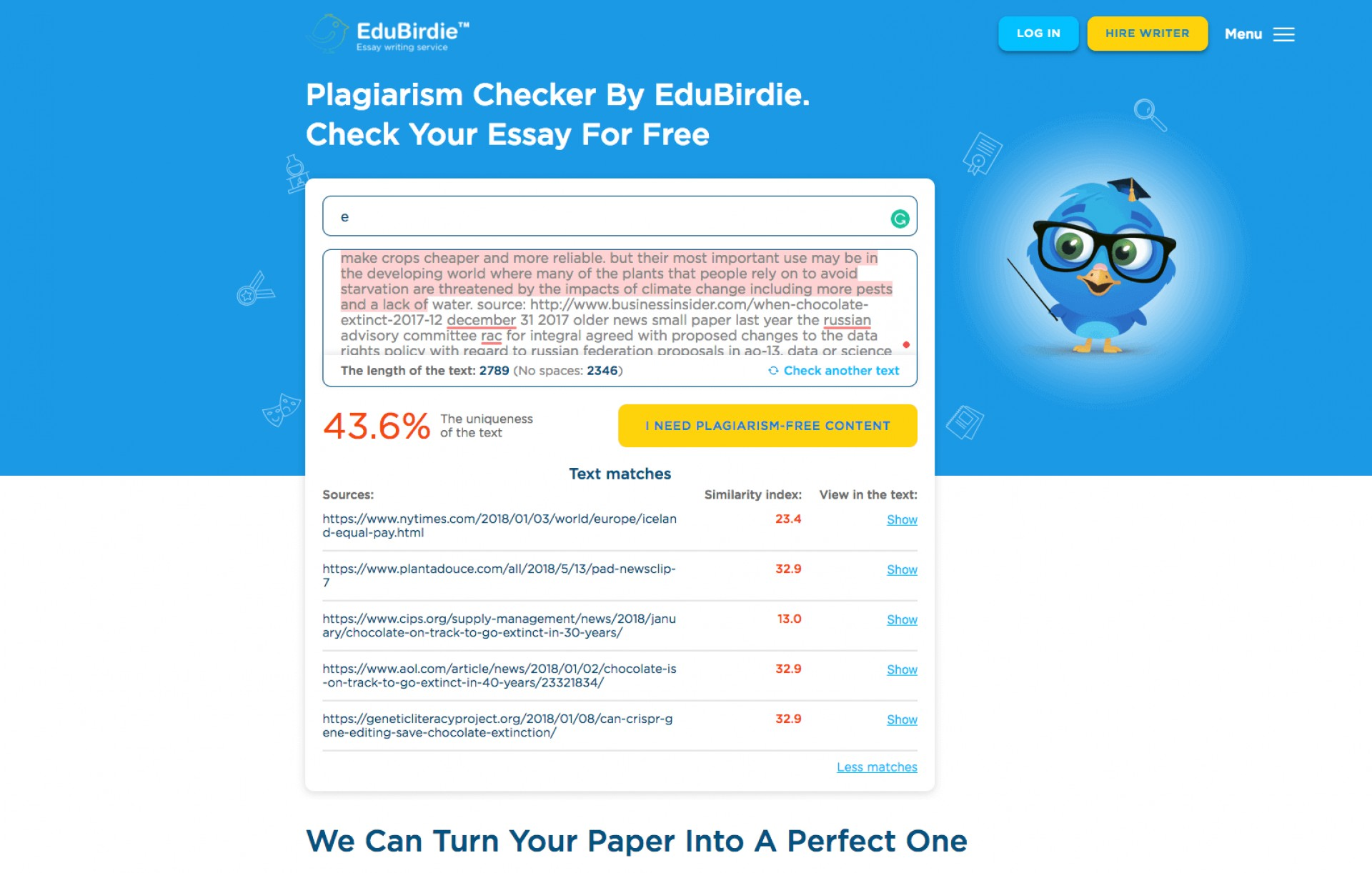 018 Research Paper Edubirdie Online Plagiarism Checker For Papers Stunning Free Students Grammarly With Percentage 1920