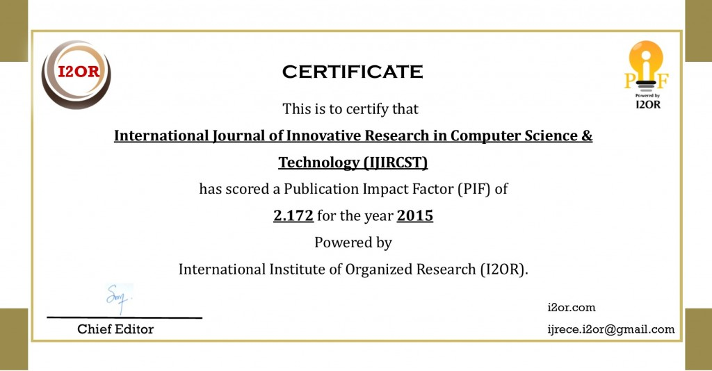 018 Research Paper Ijircst Impactfactor How To Publish In Computer Fearsome A Science Large
