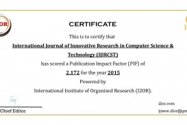 018 Research Paper Ijircst Impactfactor How To Publish In Computer Fearsome A Science