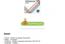 018 Research Paper Mla Handbook For Writers Of Papers 8th Edition Page 1 Unique Pdf Free Download