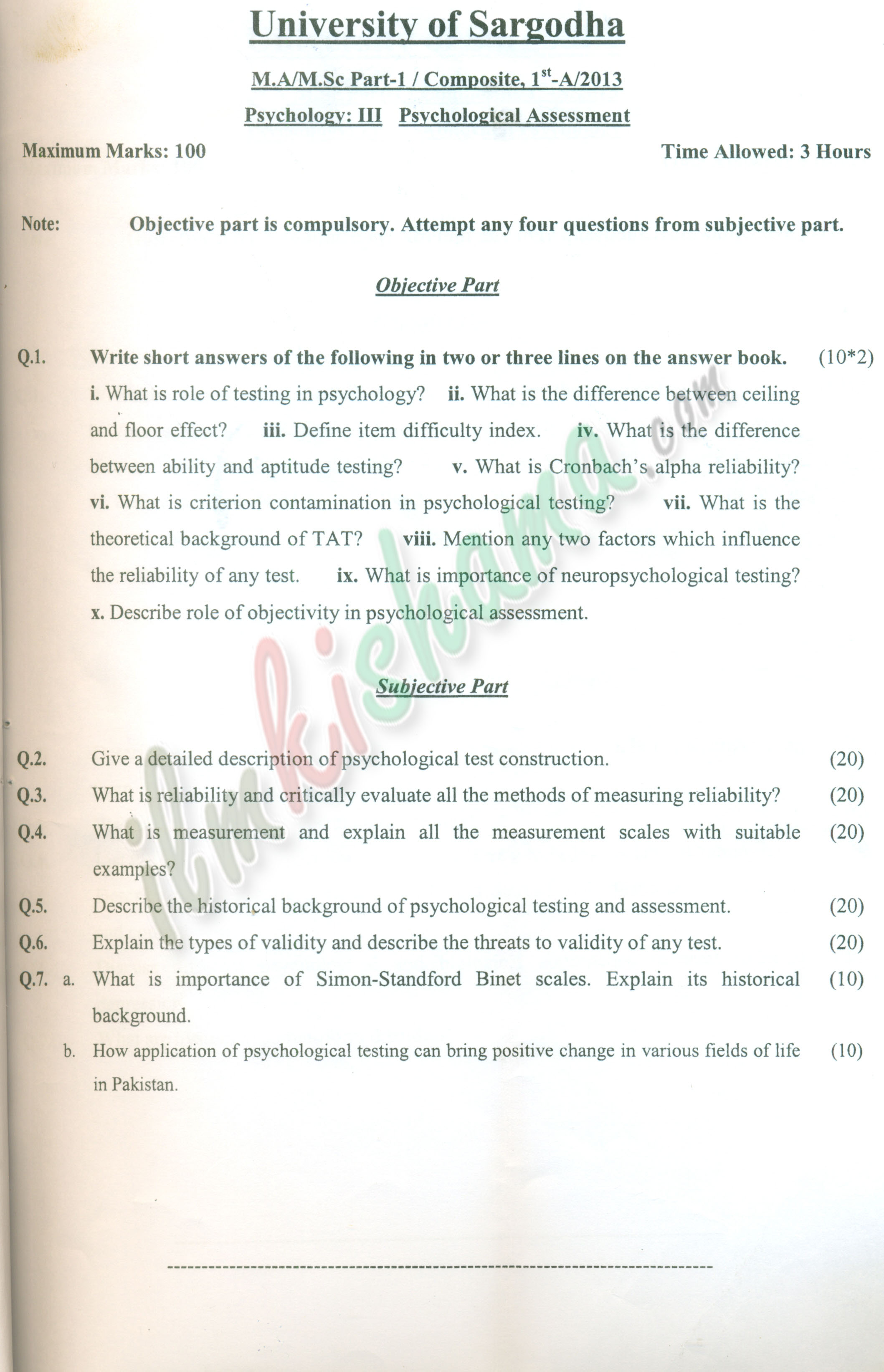 018 Research Paper Psychology Psychological Sensational Outline Apa Abstract Full