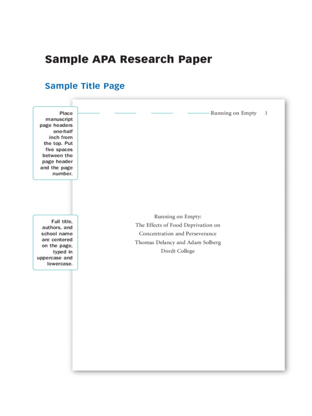 018 Research Paper Sample Apa Papers Staggering Example Outline Style Large