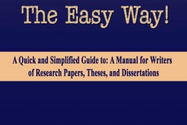 018 Research Paper Turabian The Easy Way For 8th Edition Manual Writers Of Papers Theses And Amazing A Dissertations Pdf