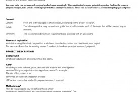 018 Research Proposal Template How To Write Paper Amazing A Sample In Apa Format