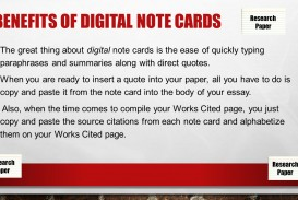 018 Slide 3 Note Cards Template For Research Astounding Paper Example Of Notecards