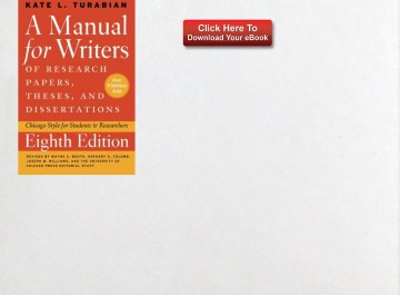 018 Source Manual For Writers Of Researchs Theses And Dissertations Ebook Unbelievable A Research Papers 360