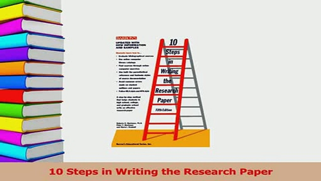 018 Steps For Writing Research Paper X1080 Unforgettable 10 A In The Markman Pdf To Write Basic Large