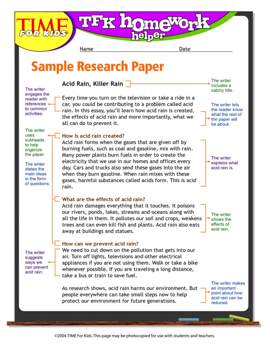 018 Writing The Research Paper Phenomenal Introduction Of A Ppt How To Write Outline 868