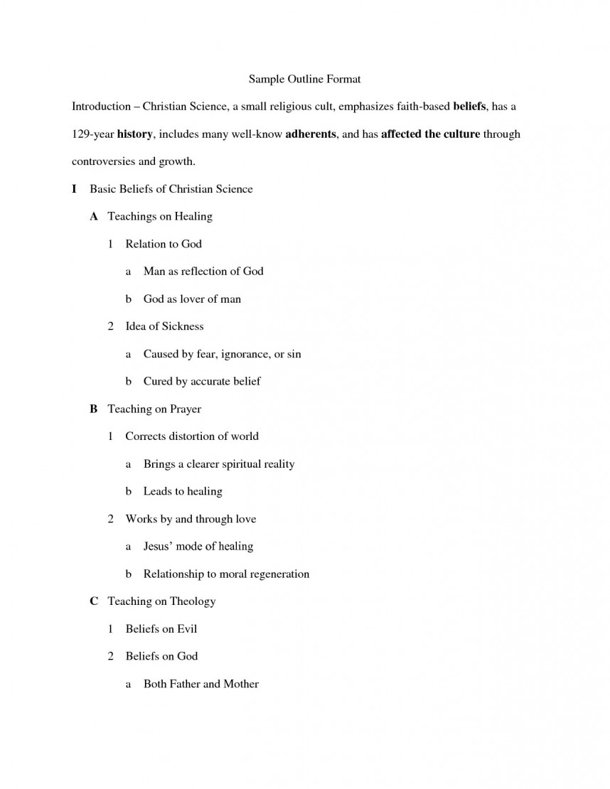 019 Apa Outline Format For Research Paper Yolar Cinetonic Staggering Example Style Sample