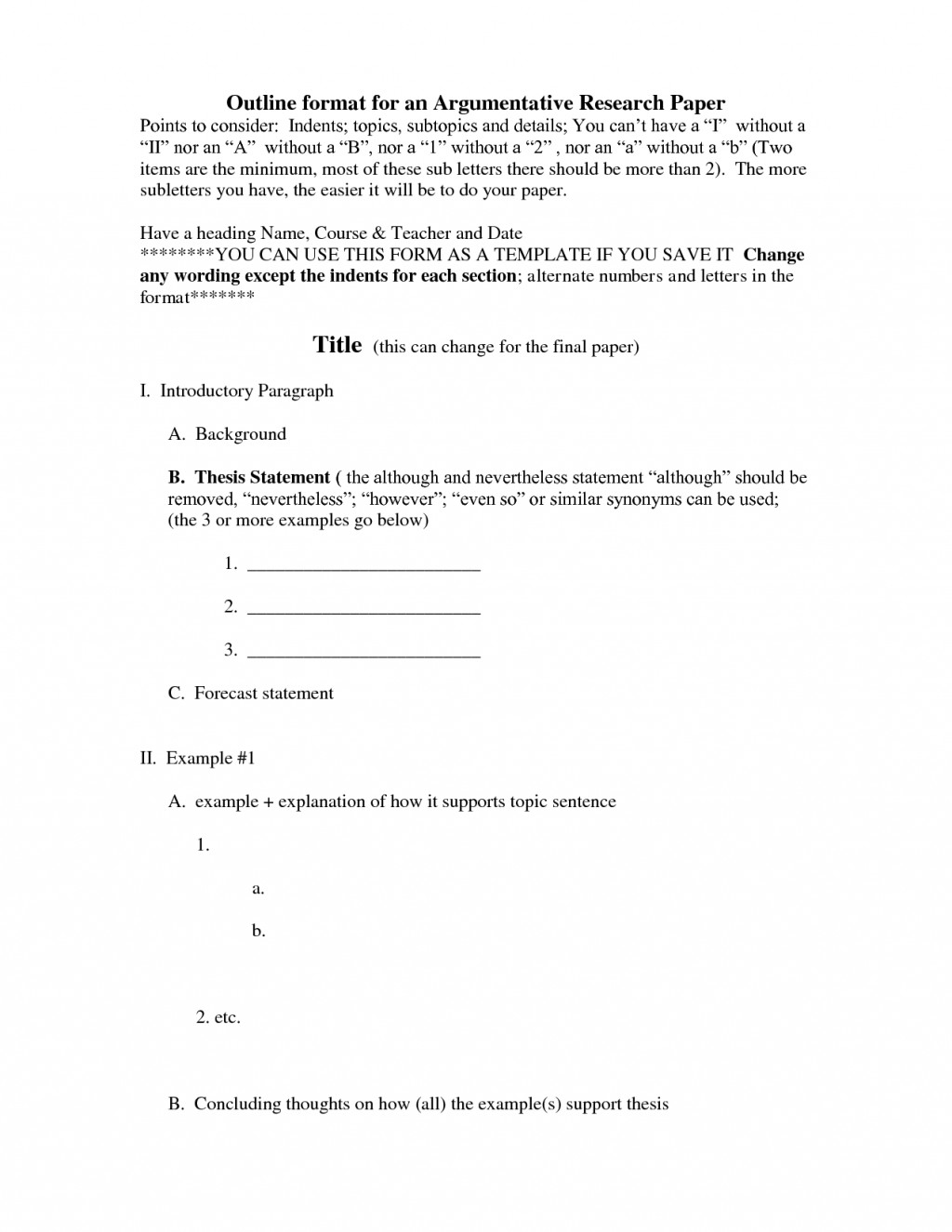 019 Apa Research Paper Outline Examples Format Template 474196 Dreaded Sample Large