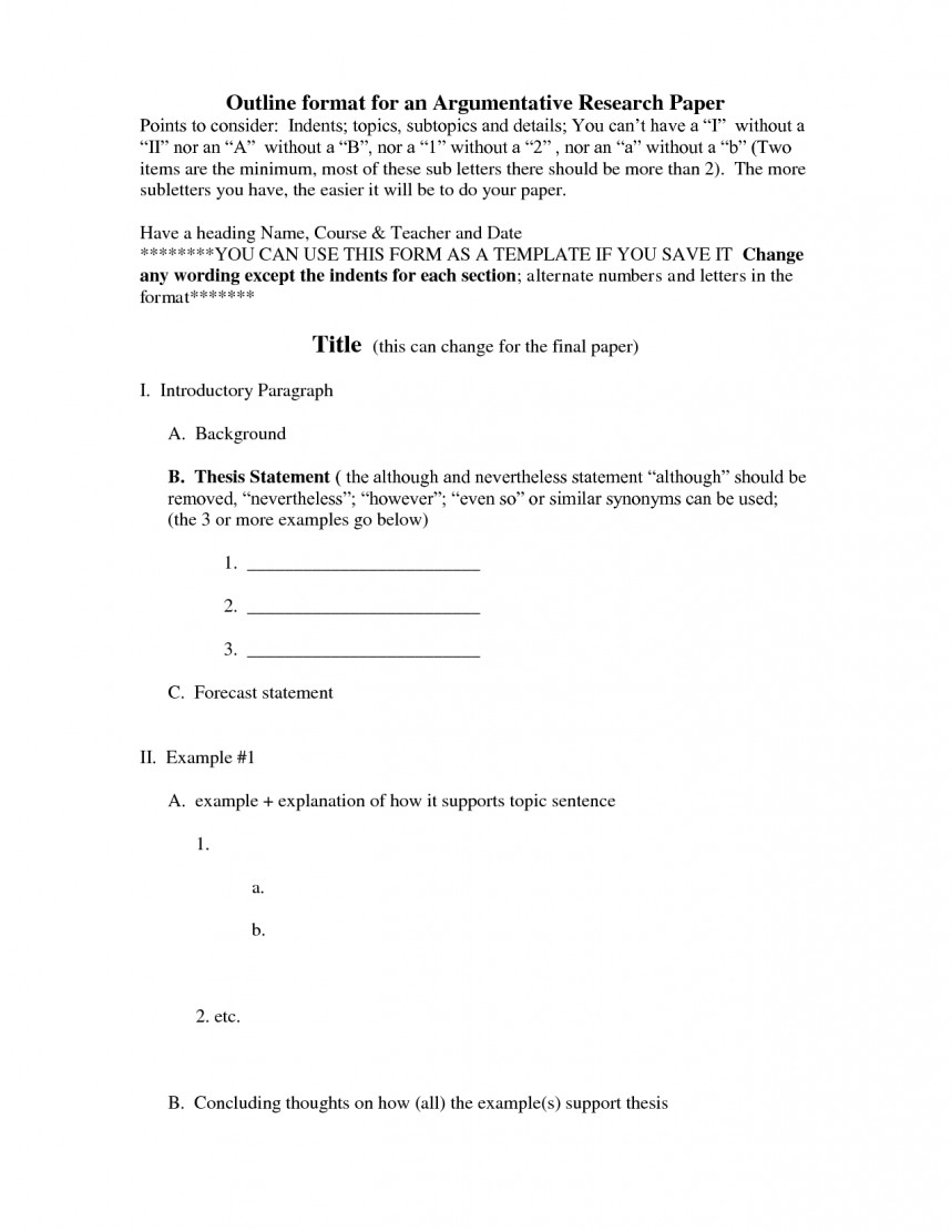 019 Apa Research Paper Outline Examples Format Template 474196 Dreaded Sample Style