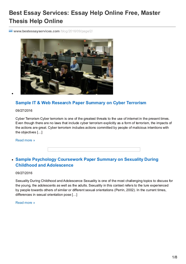 019 Bestessayservices Thumbnail Research Paper Cyber Terrorism Imposing Essay Full