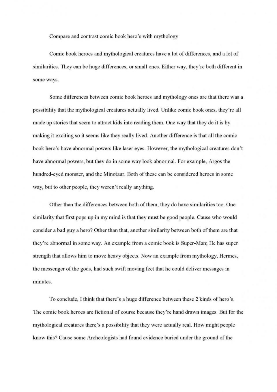 The Thesis Statement Of An Essay Must Be  Essay About English Class also Write A Good Thesis Statement For An Essay Learn These Descriptive Writing Examples From Books Pdf  Graduating From High School Essay