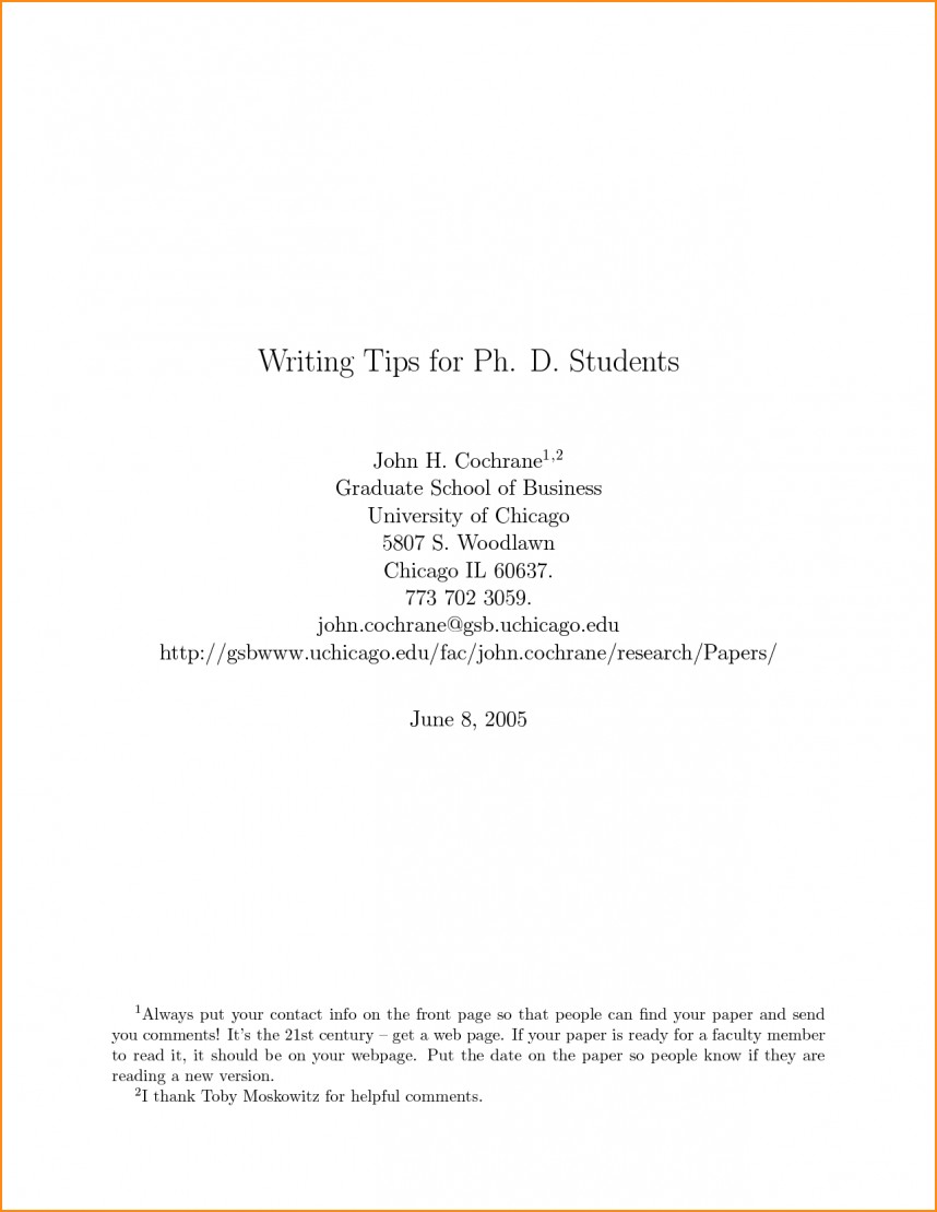 019 Cover Page Research Paper Front Of Term Rare For Harvard Doc Format