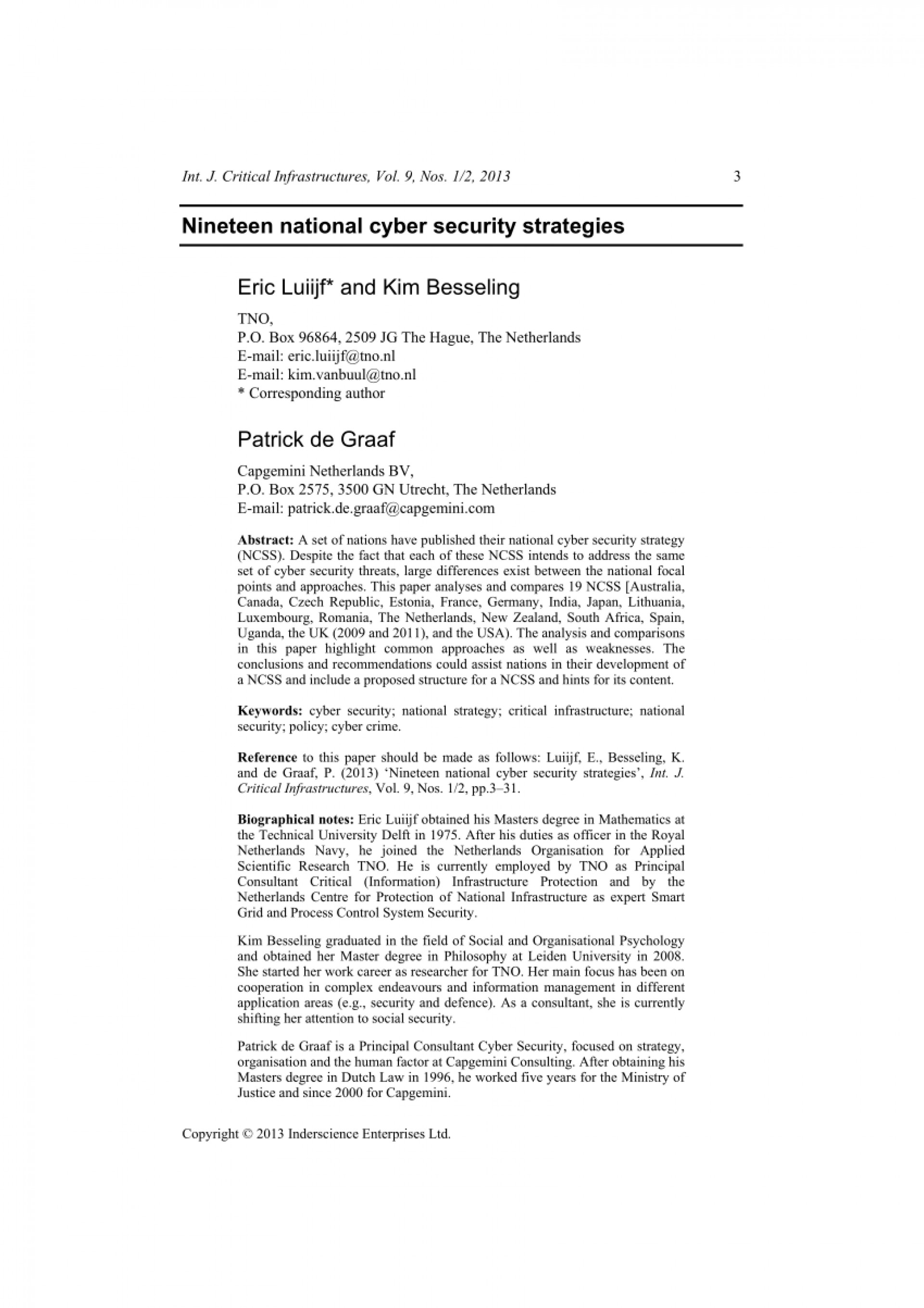 019 Cyber Security Research Paper Dreaded 2019 Papers 2018 1920