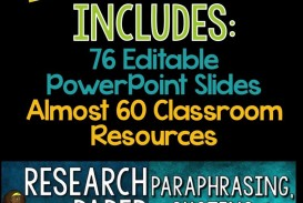 019 Example Of Research Paper Unbelievable Ppt Methodology In Writing A Middle School