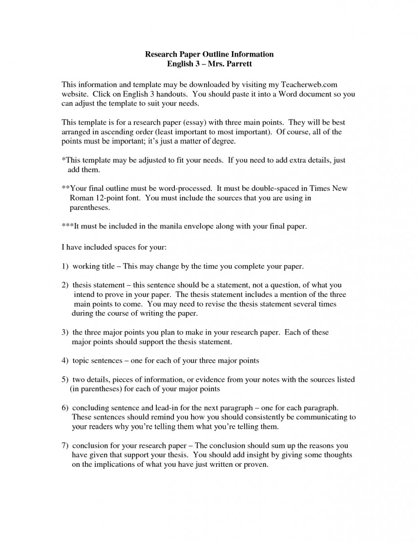 019 Examples Of Thesis Statements For Researchs Template Cginsgsx Apa Style Shocking Research Paper Outline 6th Edition