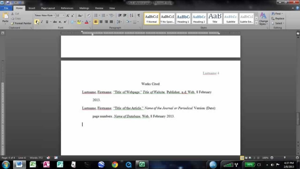 019 How To Work Cite Research Paper Mla Surprising A Use Citations In Write Format 8 Large
