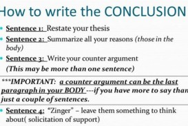 019 How To Write Research Paper Conclusion Frightening A Thesis Driven Proposal Apa
