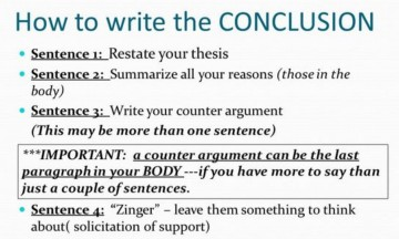 019 How To Write Research Paper Conclusion Frightening Thesis Do I A In Apa Format Scientific 360