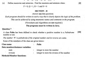 019 Isc Computer Science Theory Class Question Paper Research Imposing Ideas Topic Projects