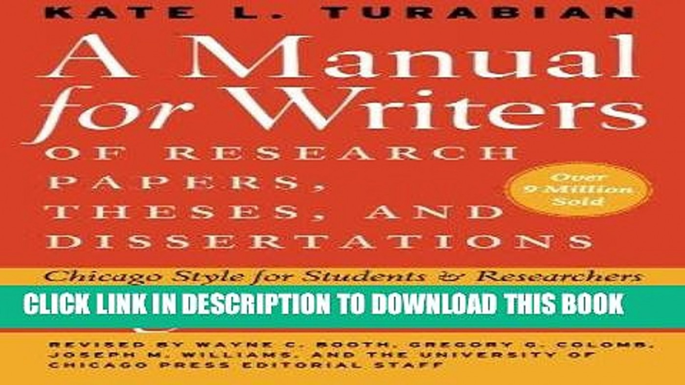 019 Manual For Writers Of Research Papers Theses And Dissertations Ebook Paper X1080 Unbelievable A 1400