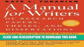 019 Manual For Writers Of Research Papers Theses And Dissertations Ebook Paper X1080 Unbelievable A 360