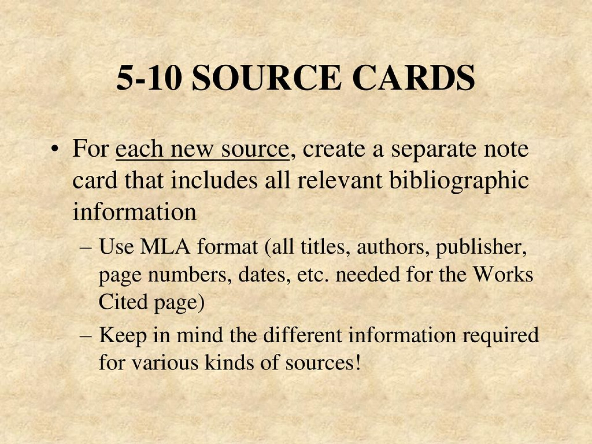 019 Note Cards Examples For Research Paper Unique A Example Card Format Template 1920