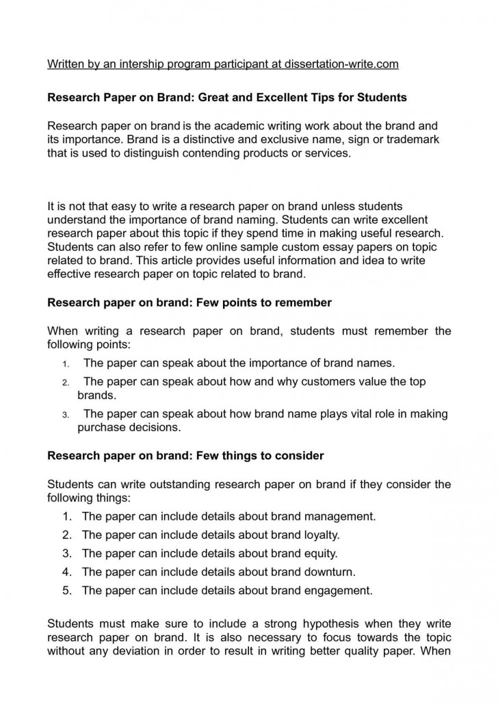 019 P1 Research Paper Magnificent Hypothesis Writing In Null Meaning 728