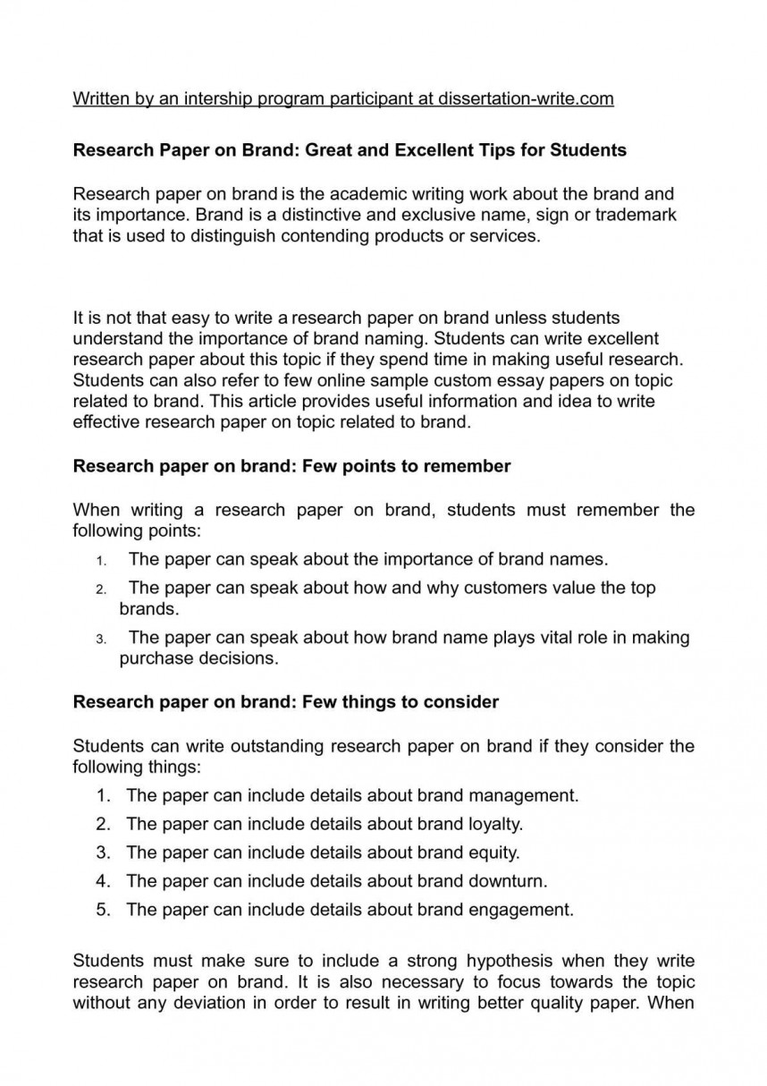 019 P1 Research Paper Magnificent Hypothesis Writing In Null Meaning 868