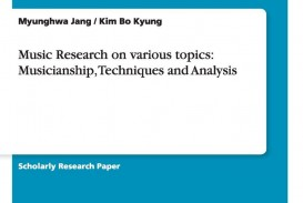 019 Popular Music Research Paper Topics Fantastic Related 320