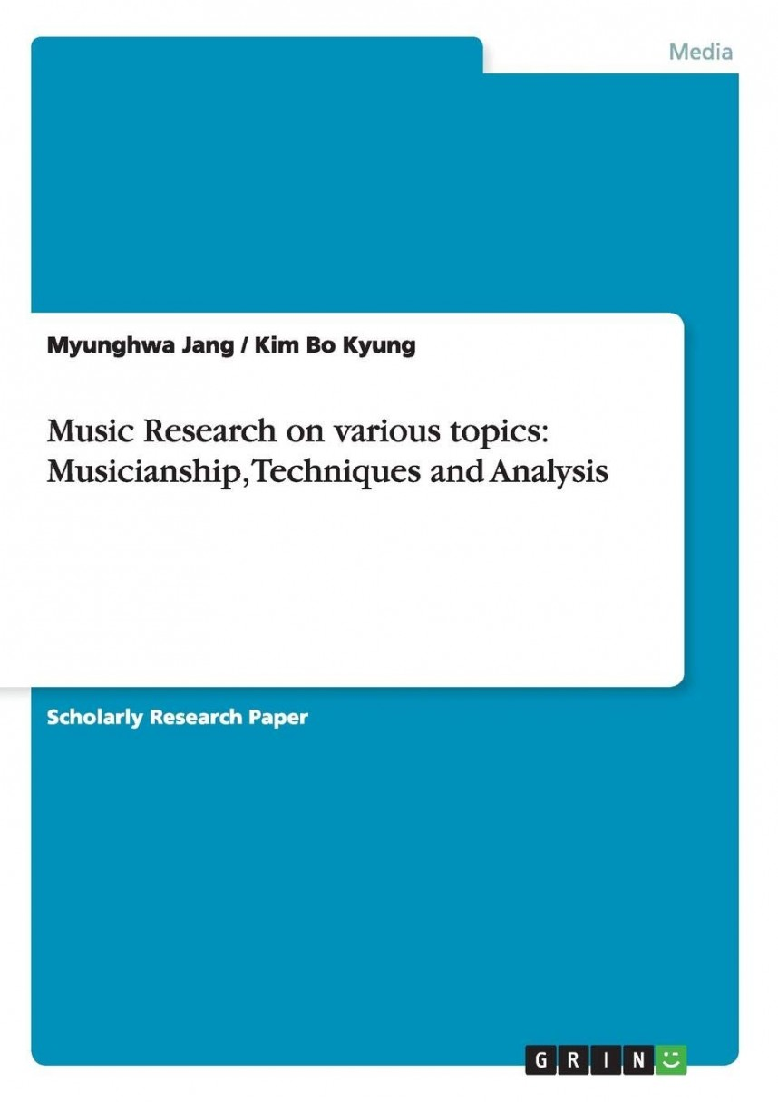 019 Popular Music Research Paper Topics Fantastic Related 868
