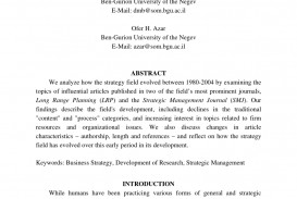 019 Possible Topics For Business Research Paper Striking A Globalization International
