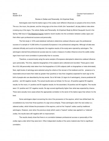 019 Research Paper An Example Of Apa Style Examples 309572 Stupendous A Guide For Writing Papers Full 360