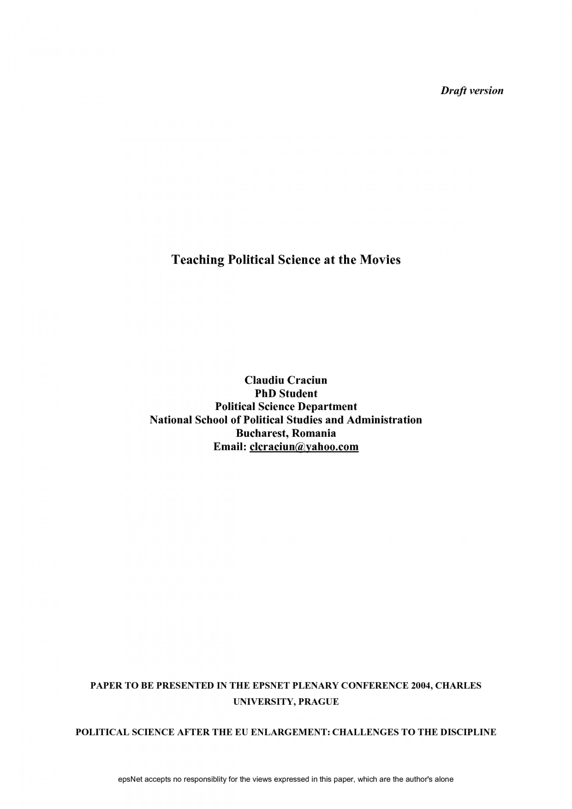 019 Research Paper Apsa Example Cover Page 319500 Template For Rare Apa Format Sample Title 1920