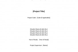 019 Research Paper Cover Page For Term Template Singular Title