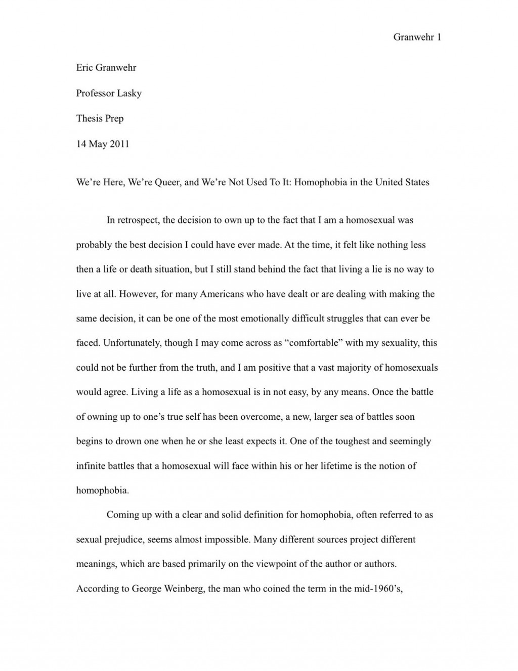 019 Research Paper Examples Of Thesis Statements For High School Papers Final Unforgettable Large